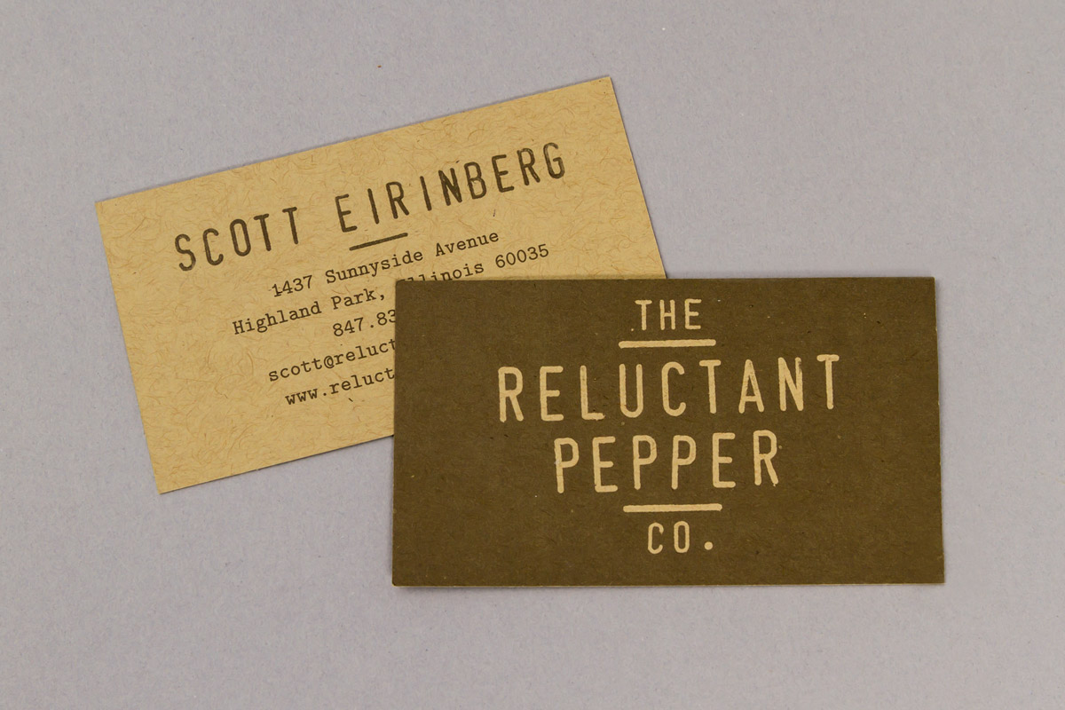 The Reluctant Pepper Co.