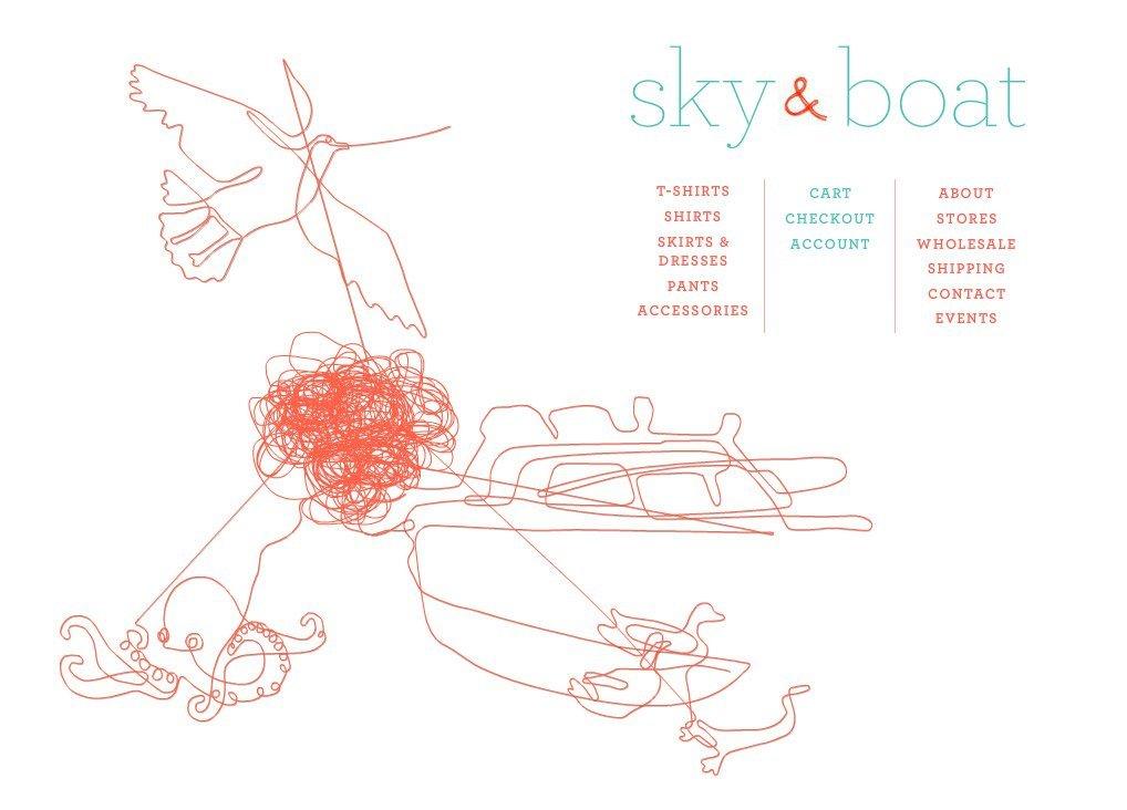 Sky & Boat