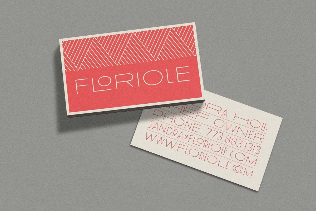 Floriole Business Card
