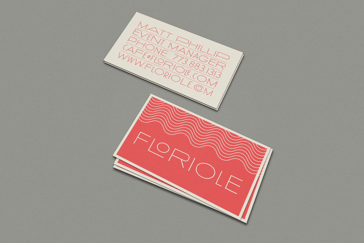Floriole Business Card