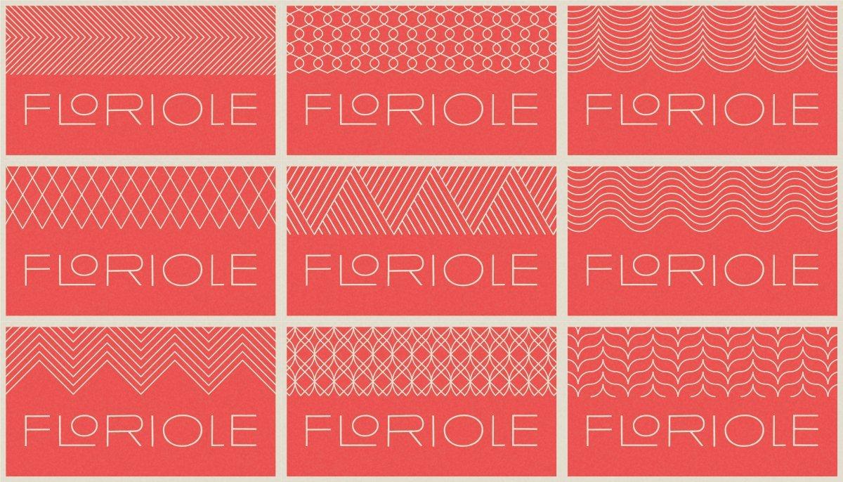 Floriole Patterns