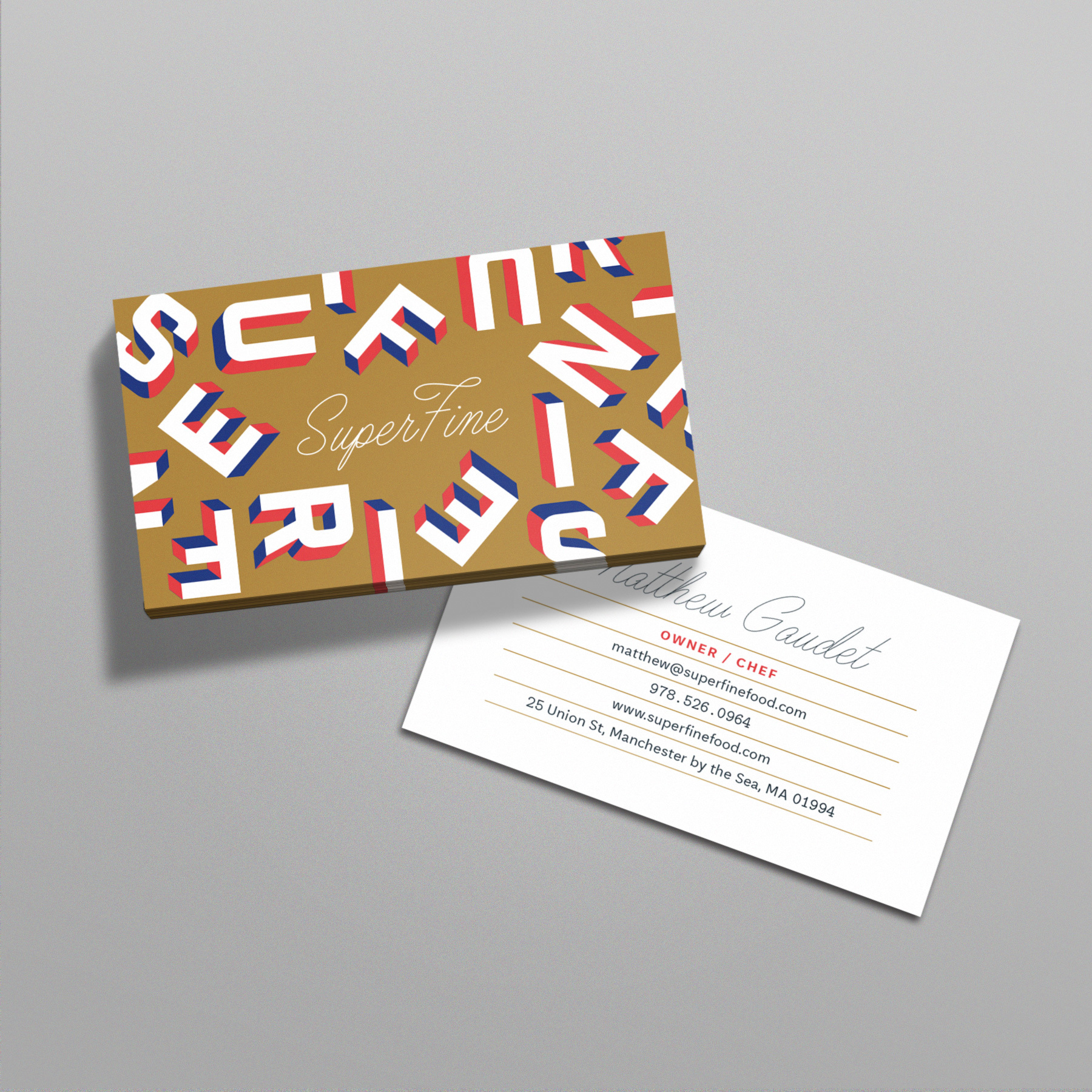 Superfine also design also illustration also animation for Animation business cards